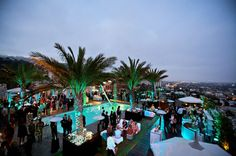 Rooftop party at The London West Hollywood
