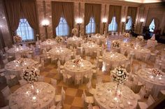 Reception at The Coronado Ballroom |   Photography: Robert George Photography | Wedding Planner: Cosmopolitan Events