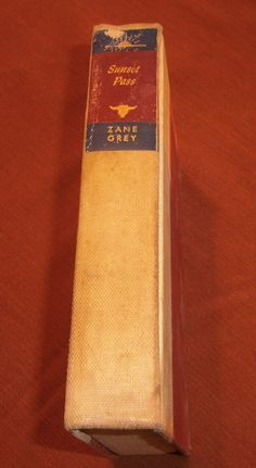 Sunset Pass by Zane Grey American Western by heritagegeneralstore $5 #westerns #books #vintage #adventure