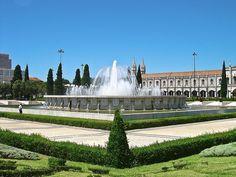 Praça do Império - Lisboa - Portugal