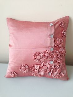 "18"" x 18"" Silk Pillow Cover  on Etsy, £45.00"