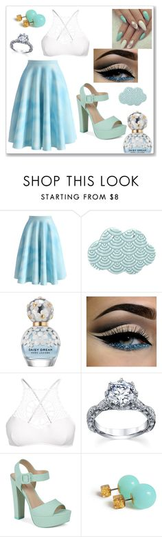 """""""Untitled #205"""" by hummingbirds-heartbeats ❤ liked on Polyvore featuring Chicwish, Marc Jacobs, Apex and Call it SPRING"""