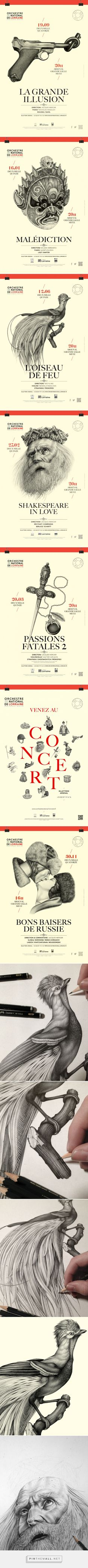 National Orchestra of Lorraine on Behance