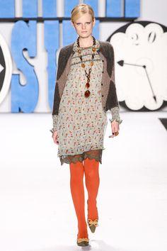 Pret A Porter - Nueva York  Anna Sui  otoño-invierno 2012-13