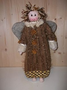 Soft Sculpture Cloth Doll Guardian Angel Tutorial Pattern link in WORD & PDF  doll making patterns on my Website. Please email to receive in your email address. All information at the bottom of the link on my Site. rossella.usai@dalbauledellanonna.com