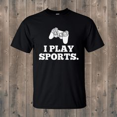 You know what makes a great Christmas present? Funny t-shirts!! These are perfect for anyone who'd appreciate a little humour on their shirts!! Visit us @ www.fortee.co.nz for more funny tees!! #funnytshirts #humoroustshirts #sports #computergames #player #psp