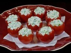 Фаршированные помидорчики сыром и зеленью. Рецепты закусок.https://www.youtube.com/watch?v=-e1Yh_ad-lE