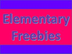 This is an educational collaborative board for elementary freebies.  If you would like to join follow me and email your request to scook2000@comcast.net Reading Resources, Teacher Resources, Science Lessons, Science Guy, Seeing Quotes, Kindergarten Activities, Preschool, Elementary Math, Fun Math