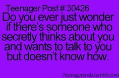 All the time....