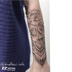 """2,467 Likes, 17 Comments - Anna Mellow (@mellow.ink) on Instagram: """"Made with the support of @eztattooing #mellowink #dotwork #dotworktattoo #mellowink #tattoo…"""""""