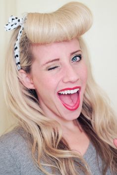 How-To: Faux Bettie Bangs!