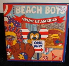 Beach Boys Gatefold 2 Lps Spirit Of America Near Mint