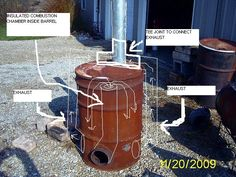 Rocket Stove Mass Heater | rocket stove and butt warmer (rocket stoves forum at permies)