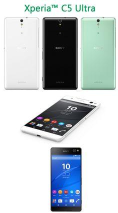 Xperia C5 Ultra Smartphone Selfie Dengan Kamera 13 Megapiksel