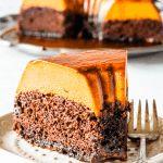 Pumpkin Flan, Pumpkin Dessert, Chocoflan Recipe, Baileys Cake, Creme Caramel, Fall Baking, Cupcake Cakes, Cupcakes, Choco Flan