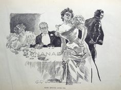 Art by Charles Dana Gibson* • Blog/Info   (https://en.wikipedia.org/wiki/Charles_Dana_Gibson)   ★    CHARACTER DESIGN REFERENCES™ (https://www.facebook.com/CharacterDesignReferences & https://www.pinterest.com/characterdesigh) • Love Character Design? Join the #CDChallenge (link→ https://www.facebook.com/groups/CharacterDesignChallenge) Share your unique vision of a theme, promote your art in a community of over 50.000 artists!    ★