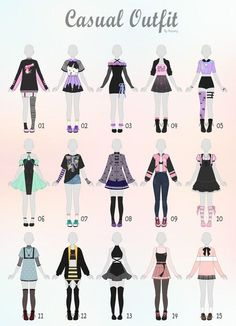 Closed) casual outfit adopts 31 by rosariy relatable в 2019 Anime Outfits, Mode Outfits, Casual Outfits, Drawing Anime Clothes, Dress Drawing, Manga Clothes, Drawings Of Clothes, Fashion Design Drawings, Fashion Sketches