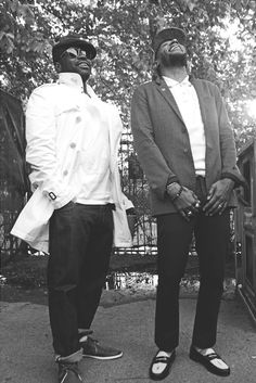 Black Thought and Yesiin Bey aka Mos Def