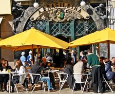 cafés famosos - A Brasileira e o hábito de beber café em Portugal