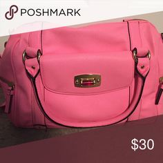 Hot Pink Purse Hot Pink Purse. Comes with handles and long adjustable strap. Great for summer. Bags Crossbody Bags