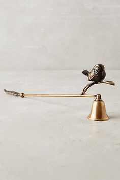 Perched Candle Snuffer - anthropologie.com