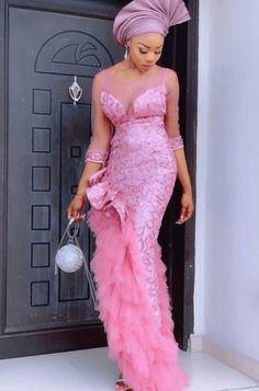 Aso Ebi Lace Styles, African Lace Styles, Lace Dress Styles, Ankara Styles, Cord Lace Styles, Ankara Designs, African Style, African Beauty, African Prom Dresses