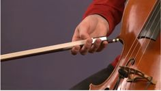 cello bow hold - good pictures