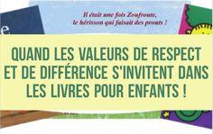 3 livres pour enfants qui invitent à réfléchir sur les valeurs de respect et de différence