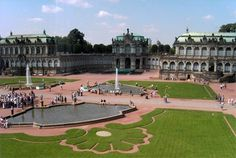 Dresdner Zwinger. Zwinger palace, Dresden Germany