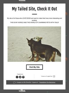 My Tailed Site,Check It Out