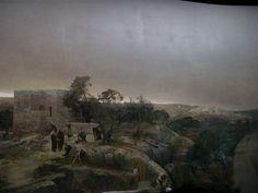 Gebhard Fugel (1863–1939) Altötting, Panorama Kreuzigung Christi