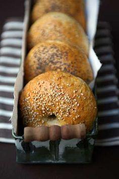 Bagels. Altra ricetta per queste ciambelline di pane  che adoro <3