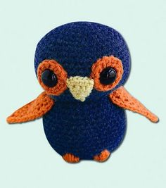 Cutest Little Crocheted Owl