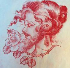 Jason Minauro -bearded lady, The Book of Good Head