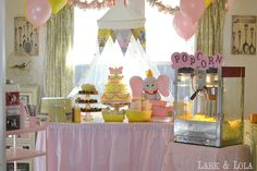 Freaking adorable Dumbo party