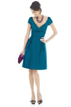 Mom dress - Alfred Sung D502 Bridesmaid Dress | Weddington Way