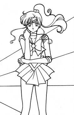 Sailor Moon Crafts, Sailor Moon Art, Sailor Jupiter, Sailor Moon Crystal, Sailor Moon Coloring Pages, Coloring Pages For Girls, Colouring Pages, Coloring Books, Activity Sheets