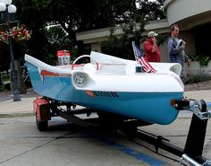 Coolest Boat Ever.... by Gordon _Iowa, via Flickr
