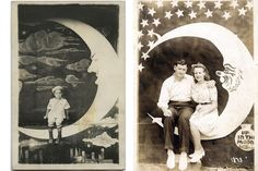 Paper moon photobooth