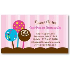 89 Best Business Cards Images Bakery Business Cards Business