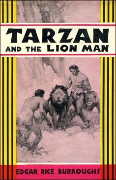 Tarzan And The Lion Man by Edgar Rice Burroughs