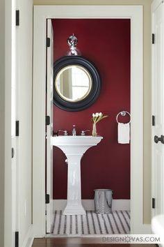Красная ванная комната - 29 идей дизайна ванны в красных тонах    #ванная #красный