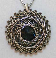 Handmade Sterling Silver Spiro Spiral Wire by DebraLorraineDesigns