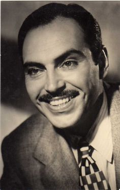 Pedro Armendariz, Actor mexicano. 1912-1963.