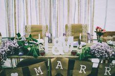 bridal table #rustic #country #wedding #party @treenridge