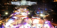 Vienna Ice Dream a sq ft skating rink in front of Rathaus Places To Travel, Places To Go, Vienna Christmas, Skating Rink, Figure Skating, Hotels, Ice Rink, Thing 1, Christmas Travel