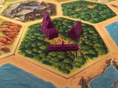 Viking Catan Pieces by Build3D on Etsy