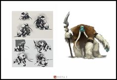 Dota 2 Concept Art by Mark Behm - Imgur