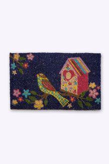 Little Bird Doormat - definitely buying this!!! very sweet