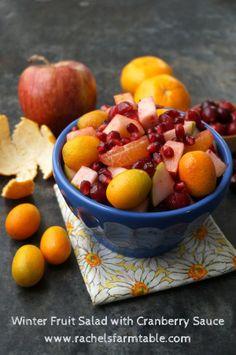 Cranberry Sauce Fruit Salad